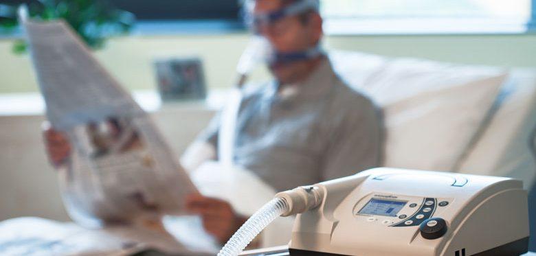 Homecare, Invasive (IV) und nicht-invasive Beatmnung (NIV) mit VENTIlogic LS, VENTIlogic plus, VENTImotion 2 und JOYCE Nasal- und Mund-Nasen-Masken